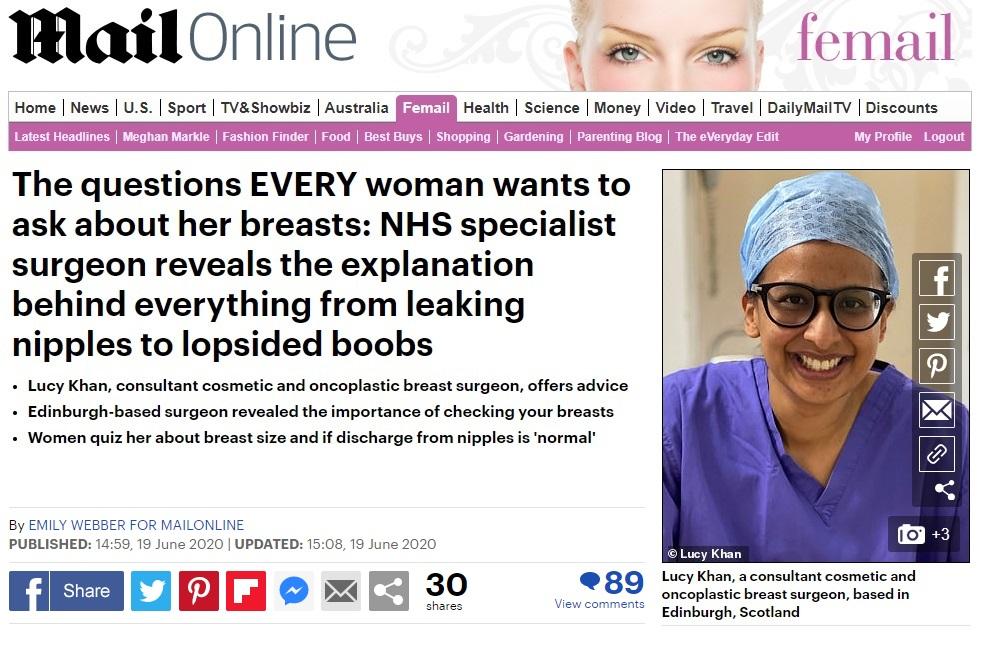 best consultant breast surgeon